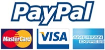 100% secure processing thru PAYPAL